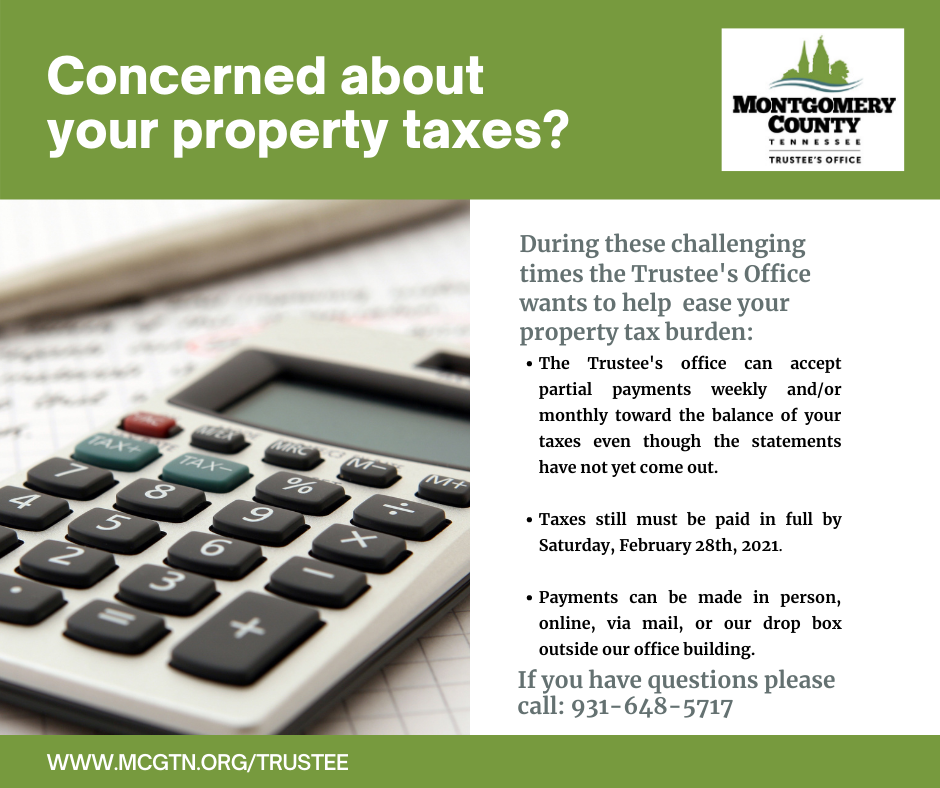 Concerned about your property taxes?
